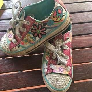 Skechers teinkle toes shoe