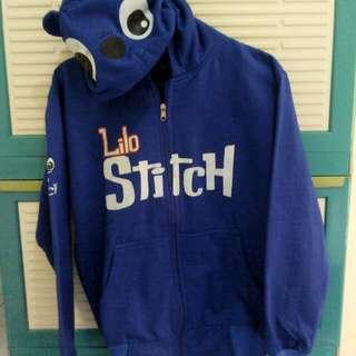 Jaket hoodie Lilo&Stitch