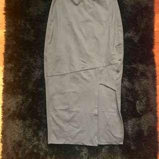 Kookai size 1 slit skirt