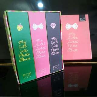 [3 albums/set] My Sweet Sweet Photo Album 4R