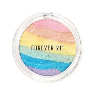 Rainbow highlighter from Forever 21