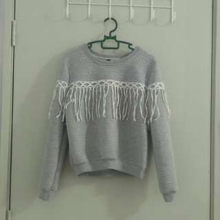 FRAYED SWEATER