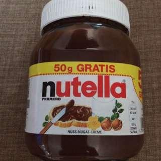 Nutella 500g +50g free