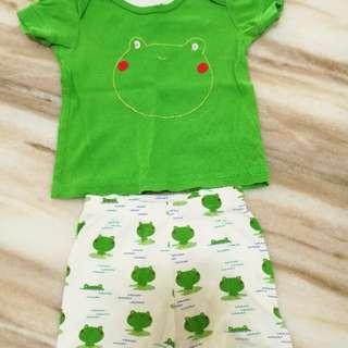 Mothercare t-shirt and shorts set
