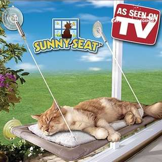 Sunny Seat Window-Mounted Cat Bed 50 lbs OUT OF STOCK