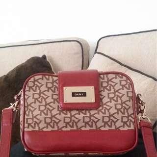 DKNY Printed Sling Bag