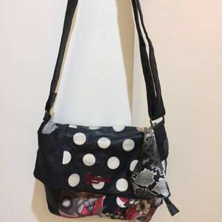 Authentic Desigual Foldable CrossBag