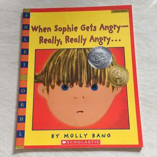 Scholastic when Sophie gets angry - really really angry