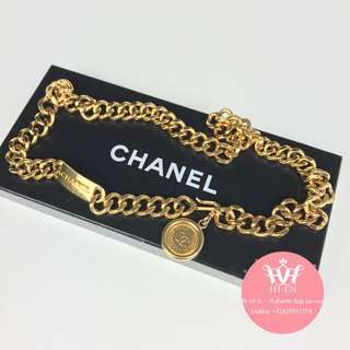 CHANEL BELT GOLD PLATED