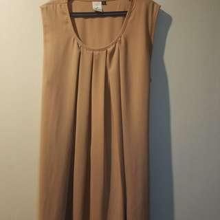 Kasheica Nude/Beige Dress