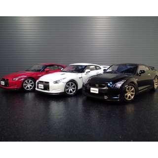 Bandai Nissan GTR Set 1:43