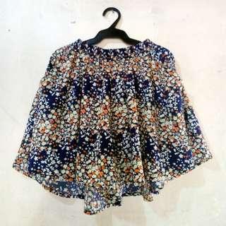 Penshoppe Floral Skirt-short