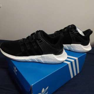 ADIDAS EQT SUPPORT 93/17 MILLED LEATHER SIZE US 9