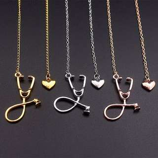 Stethoscope Necklace for Medical student / Nurse / doctor