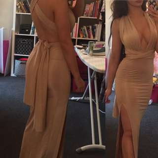 Formal gown nude
