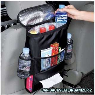 CAR BACKSEAT ORGANIZER 2