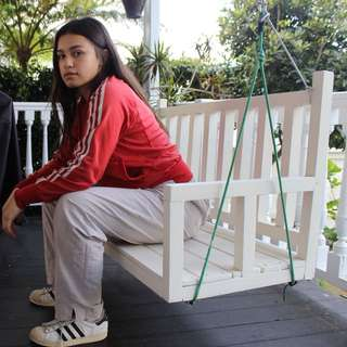 Red Adidas original jacket • size 8-10