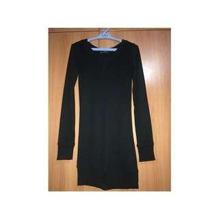 Terranova Black Pullover dress