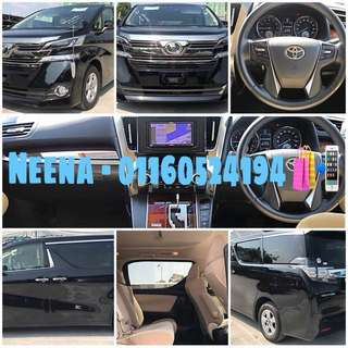 Toyota Vellfire 2.5X 2015 (A) With Delivery!