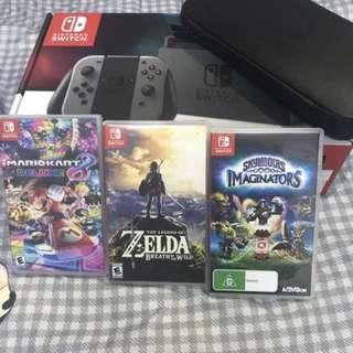Nintendo switch black EU version