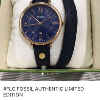 #FLG FOSSIL Authentic LIMITED EDITON!!!