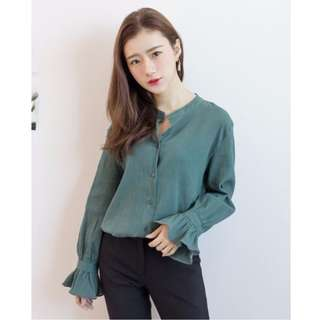 Korean Style- Green Shirt #SELLMY1111