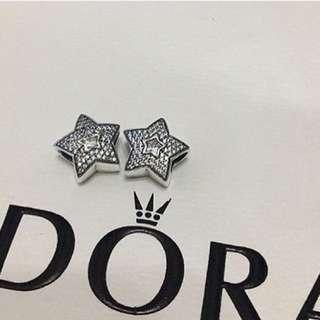 Pandora Wishing Star Pendant Charm