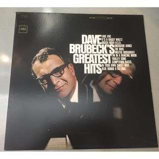 Dave Brubeck – Dave Brubeck's Greatest Hits, Vinyl LP, Columbia – P760423, USA