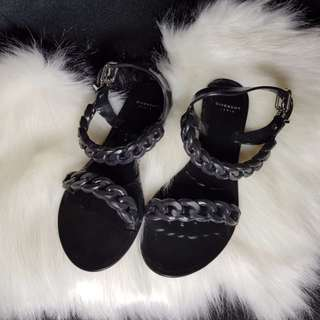 GIVENCHY Chain Jelly Sandals Size 35 AU 5