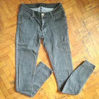 🌻Faded Black Urban Behavior Jeans
