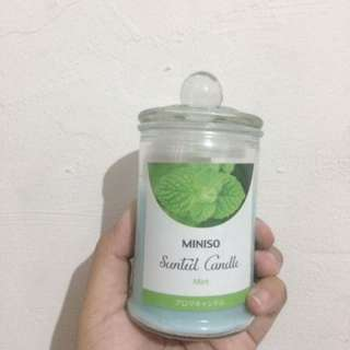 MINISO SCENTED CANDLE MINT