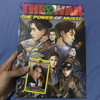 (ONHAND) EXO - THE WAR REPACKAGED KOREAN VERSION