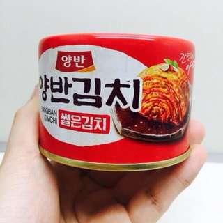 韓國 Dongwon東遠 兩班泡菜罐頭 160g
