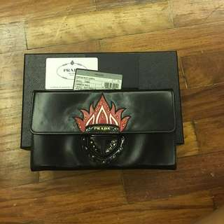 ❤️REPRICED❤️Limited Edition Prada Flame Clutch/Wallet