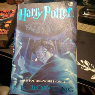 Harry potter no 5 - Indonesia