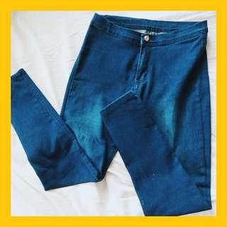 Denim Highwaist Pants