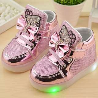 BN led shoes ( hello kitty )