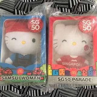 Sg50 hello kitty plush toys