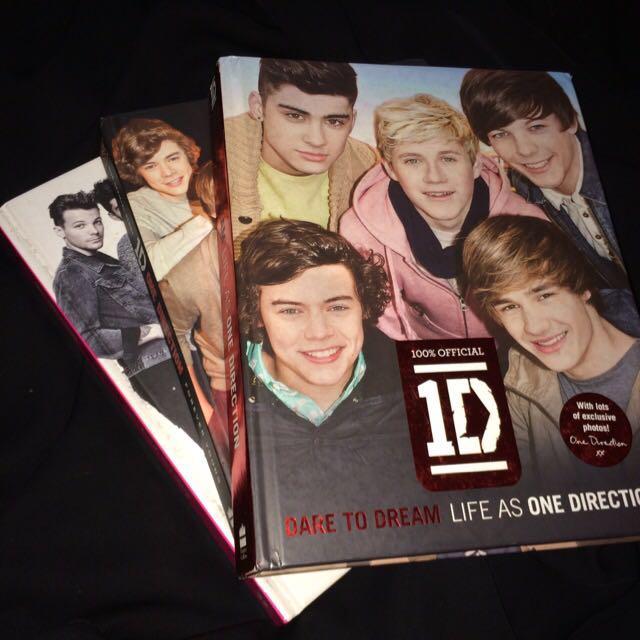 [1set] 1D Biography Books
