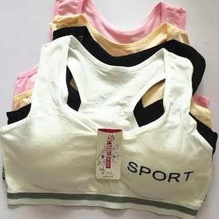 Little girl bra 9-12 Years old Developmental stage Underwear Pure cotton