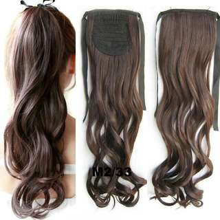 ($15.90 Mailed) New Ponytail Wig Extension