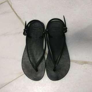 Havaianas Black Sandal US4/5