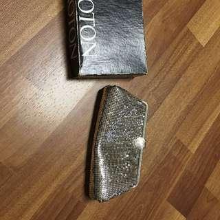 Oroton Vintage Glowmesh Clutch