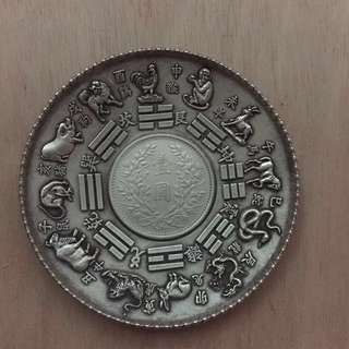 Small Silver dollar plate