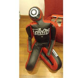 Fairtex Maddox Grappling Dummy - Super Rare BJJ MMA dummy, filled