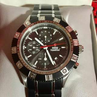 Black Swiss Expedition Watch