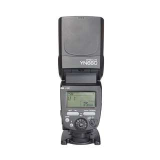 Yongnuo YN660 Manual Flash with HSS Brand New