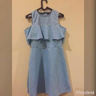 REPRICE Dress Blue