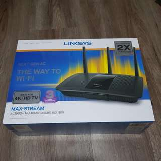 New Linksys Router