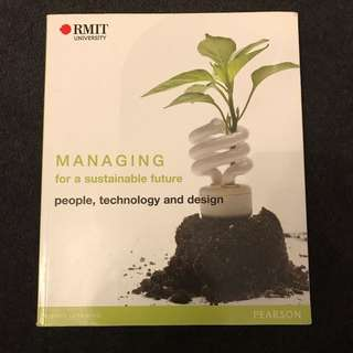 Managing for a sustainable future